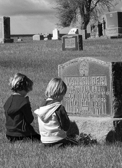 Sun Rise Cemetery, Wasco, Oregon