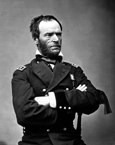 General William Tecumseh Sherman, 1865.
