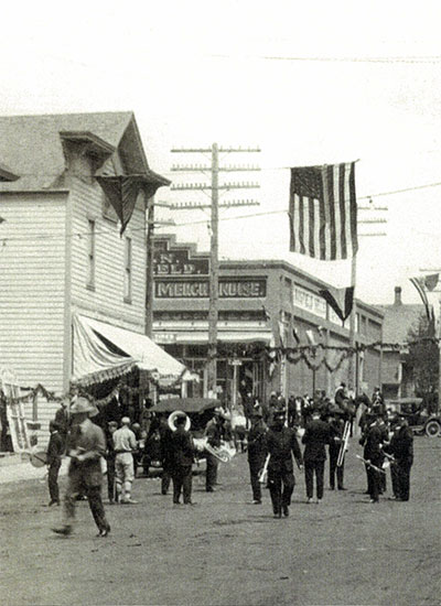 Parade in Wasco, Oregon