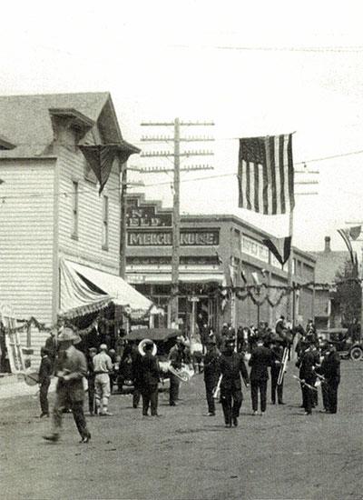 Parade in Wasco, Oregon