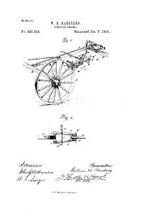 A United States Patent filed by Wm. H. Kaseberg - Patent # US437834-0