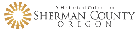 Sherman County, Oregon History Logo