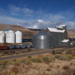 Mid Columbia Producers Grain Elevators, Biggs, Oregon - 2015