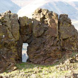 Biggs Arch near Hwy. 30, Biggs, Oregon.