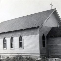 Early Catholic Church, Grass Valley, Oregon.