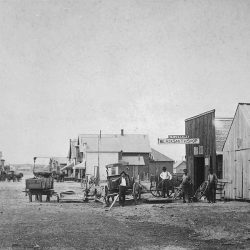 Grass Valley, Oregon sometime during the 1880's.