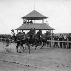 Races during the Sherman County Fair in the 1920s.
