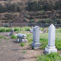 The DeMoss Family Cemetery, DeMoss Springs, Oregon.