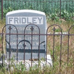 Emigrant Springs Cemetery, Sherman County Oregon