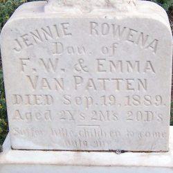 Emigrant Springs Cemetery, Sherman County Oregon