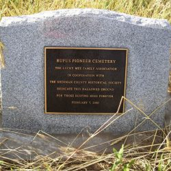 Rufus Pioneer Cemetery, Rufus, Oregon