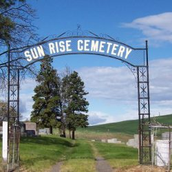 Sun Rise Cemetery, Wasco, Oregon
