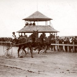 Races at the Sherman County Fair in Moro, Oregon during the 1920s.