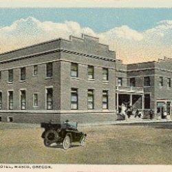 A postcard from the Sherman Hotel in Wasco, Oregon.