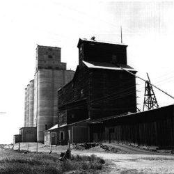Grain elevators in Kent, Oregon.